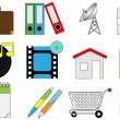 Different icons — Image vectorielle