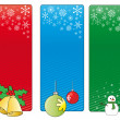 Christmas banners — Stock Vector #35773671