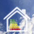 Energy home — Stock Photo