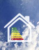 Energy home — Stock Photo