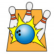Bowling — Stock Vector #35892163