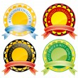 Badges — Stock Vector