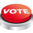 Stock Vector: Vote button