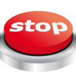 Stop button — Stockvektor