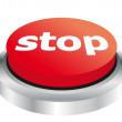 Stop button — Stock Vector