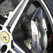 Stock Photo: Ferrari wheel