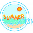 Summer time stamp — Stock Vector