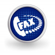 Fax icon — Stock Vector