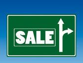 Sale roadsign — Stock Vector