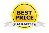 Best price sign — Stock Vector