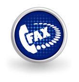Fax icon — Stock Vector