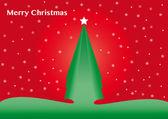 árbol de navidad. — Vector de stock