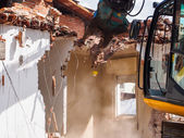 Dismantling of a house — Stock Photo