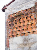 Barn: detail window for ventilation — Stock Photo