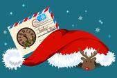 Letter for Santa Claus — Stock Vector