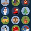 Christmas Icons , set — Stock Vector #37094339