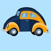Car flat illustration — Stok Vektör