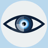 Vector Eye Icon — Stock Vector