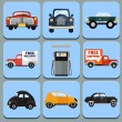 Car icon flat illustration -set — Stock Vector #41675141