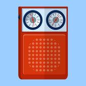 Retro Radio icon — Stock Vector
