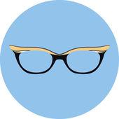 Glasses Icon — Stock Vector