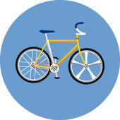 Bicycle Illustration — Stock Vector