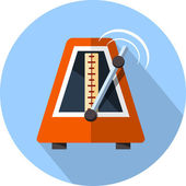 Vector Metronome — Stock Vector
