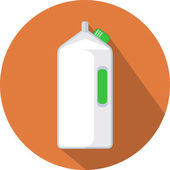 Milk Bottle — Stock Vector
