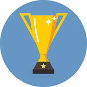 Vector Trophy Cup — Stock Vector