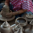 Pottery handicraft in thailand — Stock Photo #37186113