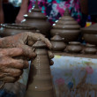 Pottery handicraft in thailand — Stock Photo #37186361