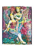 Kinnari statue — Stock fotografie