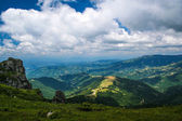 Mountains - areal view — Stock Photo