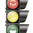 Funny traffic light — Stock Vector #35551961