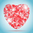 Vector heart illustration for Valentine's Day design — Vettoriale Stock  #38345939