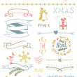 Christmas Vector Set — Vettoriali Stock