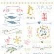 Christmas Vector Set — Stockvectorbeeld