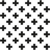 Scandinavian trend seamless pattern — Stock Vector