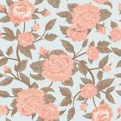 Shabby chic flower background — Stock Vector