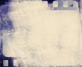 Blank grained film strip abstract grunge texture — Stock Photo