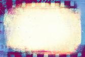 Blank filmstrip for background, design element — Stockfoto