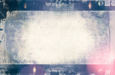 Blank grained film strip texture for background, design element — Stock Photo
