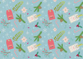 Seamless pattern for holiday design — Vecteur
