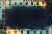 Grunge filmstrip for background, design element — Stockfoto