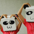 Photo: Smiley pandmodels feeling love