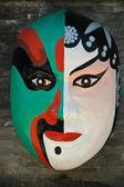Traditional Chinese opera mask — Stock Photo