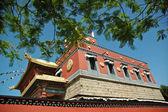 Tibetan holy temple — Stock fotografie