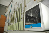 Clocking system — Stock Photo