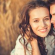 Young couple in love outdoor — Stock Photo #35189873