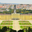 Landscape view of Schonbrunn Palace Vienna, Austria — Stock Photo